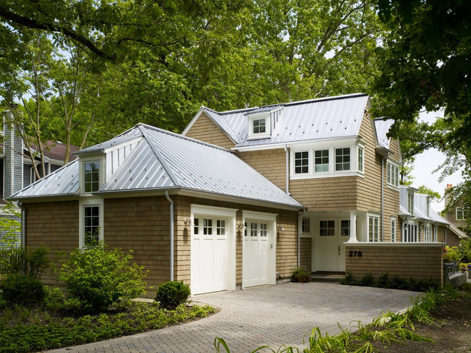 Traditional Exterior by Stuart Cohen & Julie Hacker Architects LLC