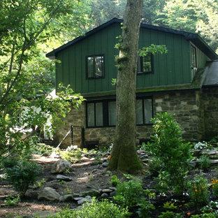 Eclectic exterior home photo in Philadelphia