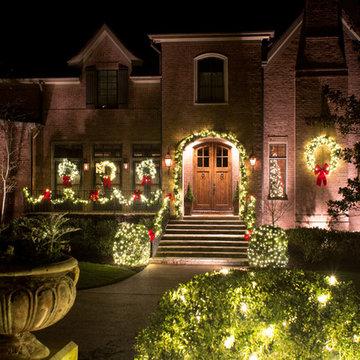Nashville Outdoor Holiday Lighting 2015