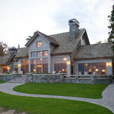Rustic Exterior by Nor-Son, Inc.