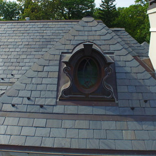 Natural Slate Roofing Project Highland Park IL