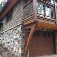 Traditional Exterior by North Idaho Masonry & Hardscape Center, Inc