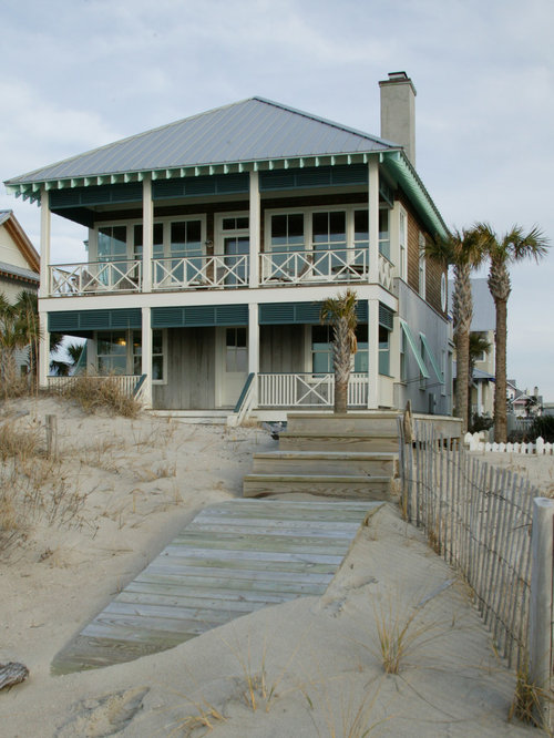 Caribbean beach home home design ideas pictures remodel for Beach house designs exterior