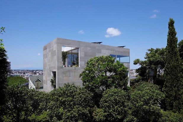 コンテンポラリー 家の外観 by no.555 一級建築士事務所