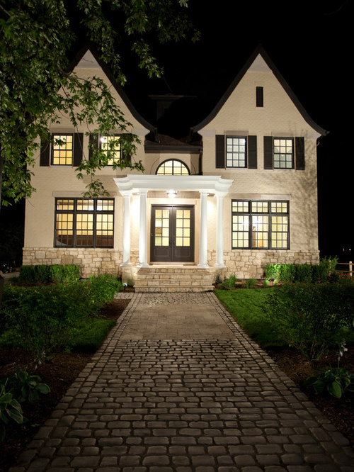 Dark Brown Window Trim Houzz