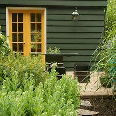 Eclectic Exterior by Creative Garden Spaces