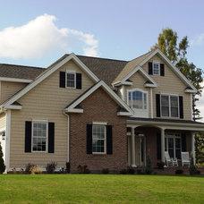 Traditional Exterior by Jennifer Morgenthau Architect, LLC