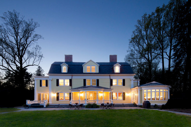 Traditional Exterior by Knight Architects LLC