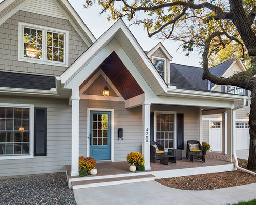 Sherwin Williams Gauntlet Gray Exterior Home Design Ideas Remodels Photos