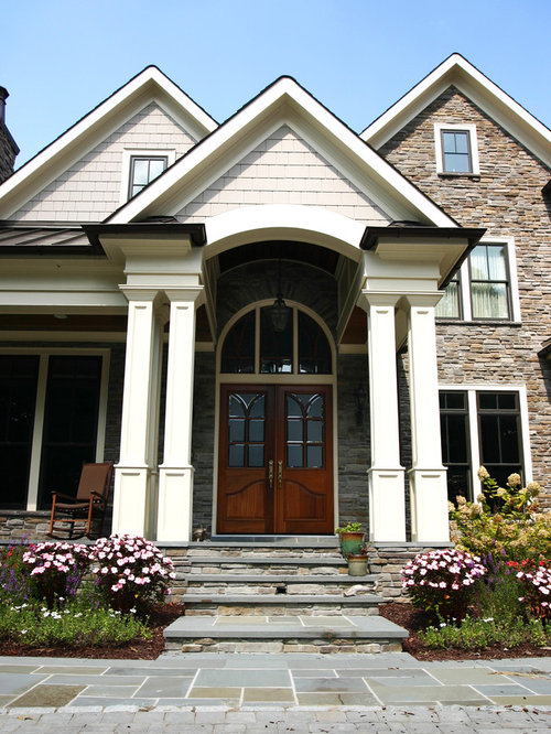 Front porch columns home design ideas pictures remodel for Columns for house exterior