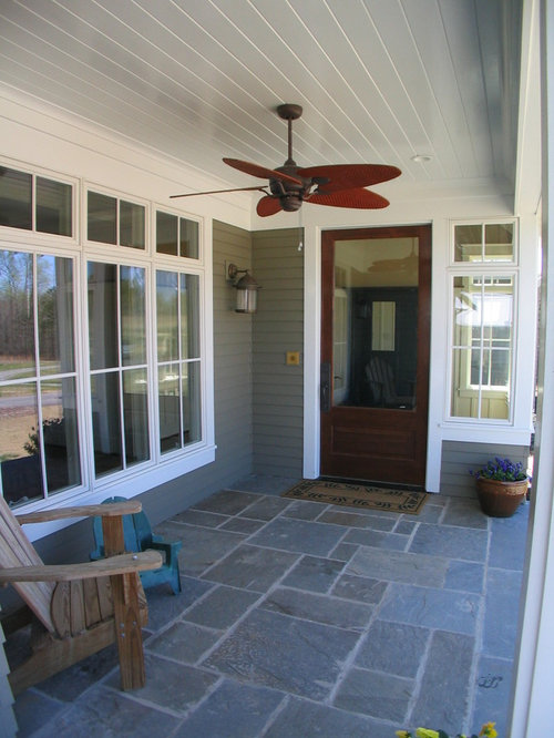Stamped Concrete Porch Houzz
