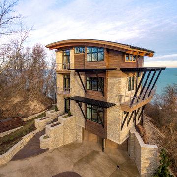 New Buffalo Modern Lakeshore Home