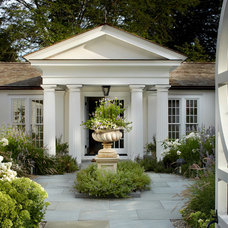 Eclectic Exterior by shelley morris interiors