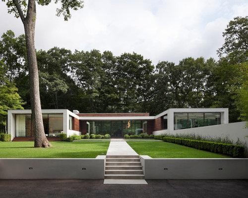modern exterior home design ideas remodels photos - Exterior Home Design Ideas