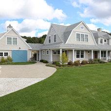 Farmhouse Exterior by Encore Construction