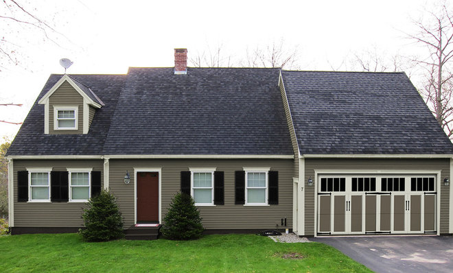 Traditional Exterior by Old House Guy LLC