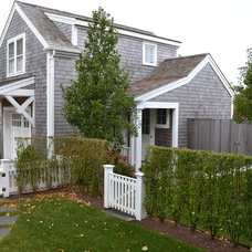 Beach Style Exterior by Cheney Brothers Building & Renovation LLC