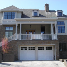 Traditional Exterior by Brown Bros. Masonry