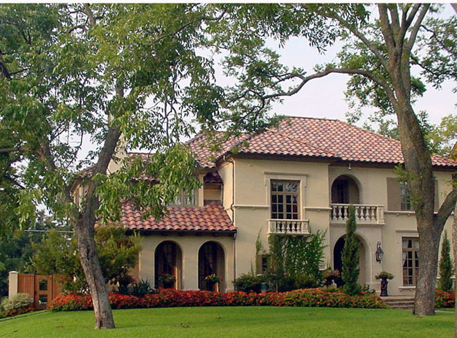 Mediterranean Exterior by Gage Homes Inc.