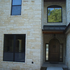 Traditional Exterior by Tracy Mitchell Custom Homes, Inc