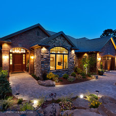 Traditional Exterior by JG Designs
