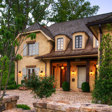 Mediterranean Exterior by Barnes Vanze Architects, Inc