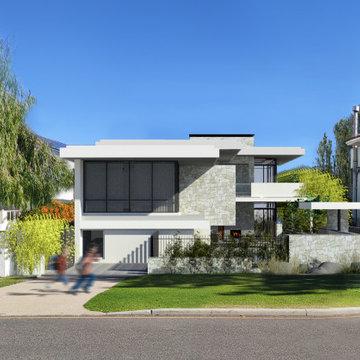 New custom Beach side home in Cottesloe