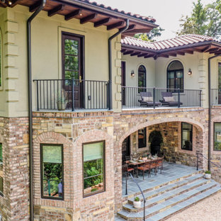 New, custom, Bergeron-built Tuscan style home with Mediterranean influences!