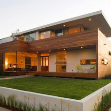 Contemporary Exterior by KAMAL PREET