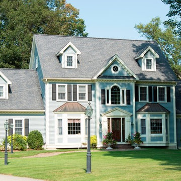New England Blue Colonial
