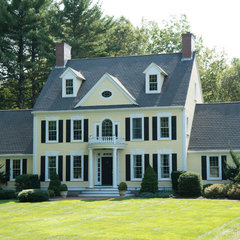 traditional exterior by Cummings Architects, LLC.
