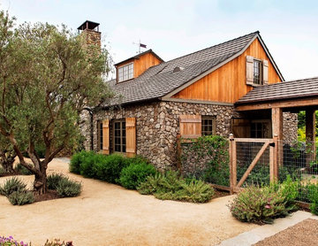 New England Stone Farmhouse in Los Angeles, CA