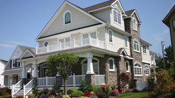 New England style cottage, Margate, NJ, Green Residence