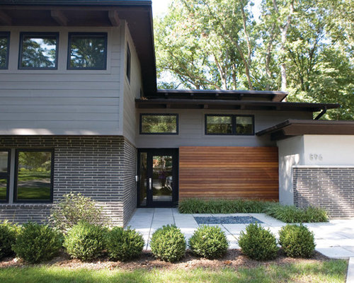 25 Best Midcentury Modern Exterior Home Ideas, Designs & Remodeling ...