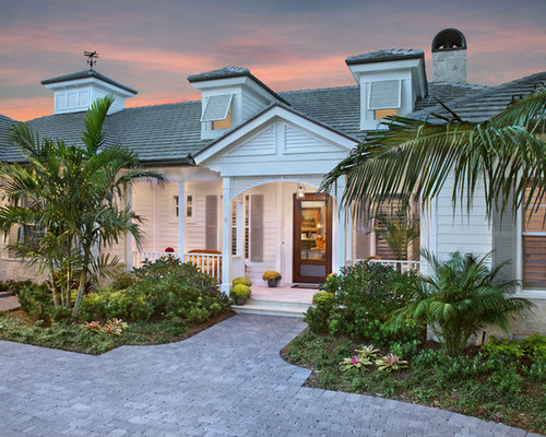 Old florida style houzz for West indian style house plans