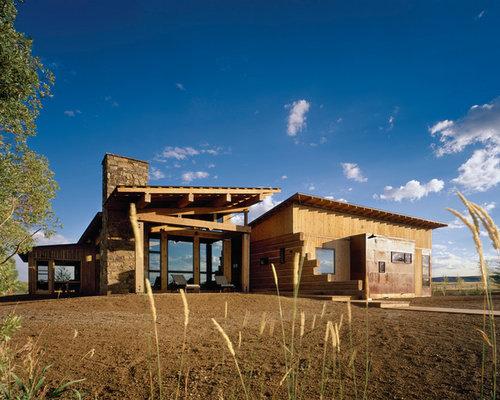 Znalezione obrazy dla zapytania modern log house