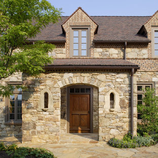 New French-Vernacular-Style Residence