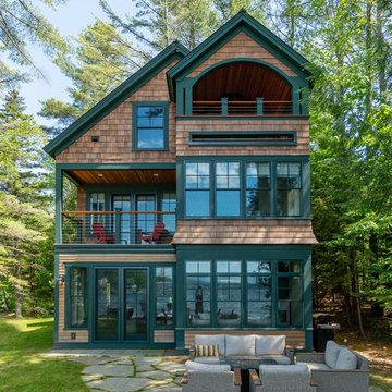 New Hampshire Lake House