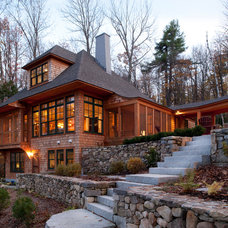 Traditional Exterior by Sheldon Pennoyer Architects