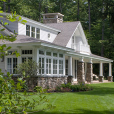 Traditional Exterior by TMS Architects