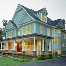 Farmhouse Exterior by Landis Architects / Builders