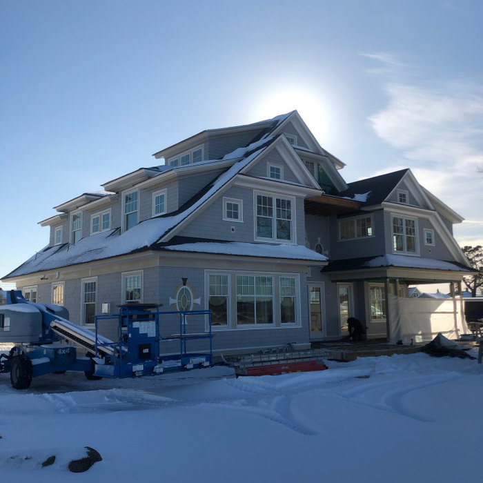 New Home Construction; Pine Point, Maine