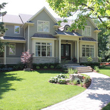 Traditional Exterior new home