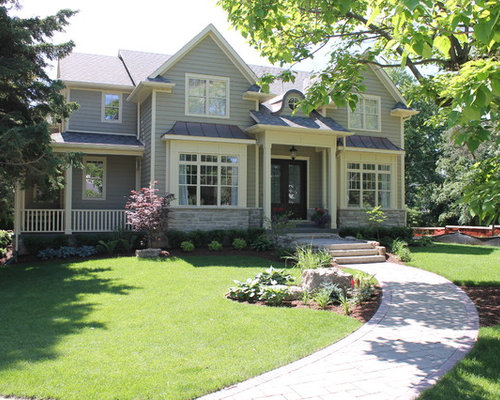 Inspiration For A Timeless Exterior Home Remodel In Toronto