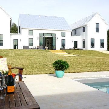 "New Home ""Modern Farmhouse"" Charlottesville Virginia"
