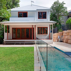 Modern Exterior by Inspired Constructions Pools and Landscaping