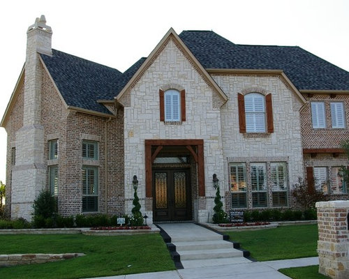 Best Brick With Stone Accents Design Ideas Remodel