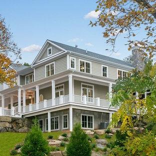 interesting traditional home exterior design | 75 Most Popular Traditional Exterior Home Design Ideas for ...