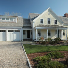 Traditional Exterior by Donovan Building Corporation
