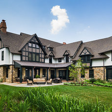 Traditional Exterior by Peter Zimmerman Architects